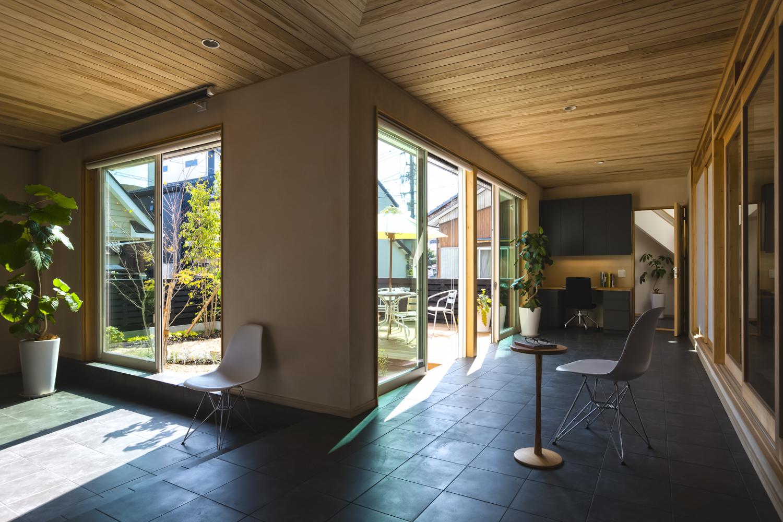 自然室温で暮らす省エネ住宅